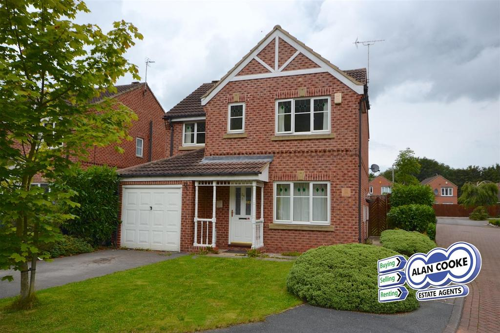 4 Bedrooms Detached House for sale in Boothroyd Drive, Meanwood