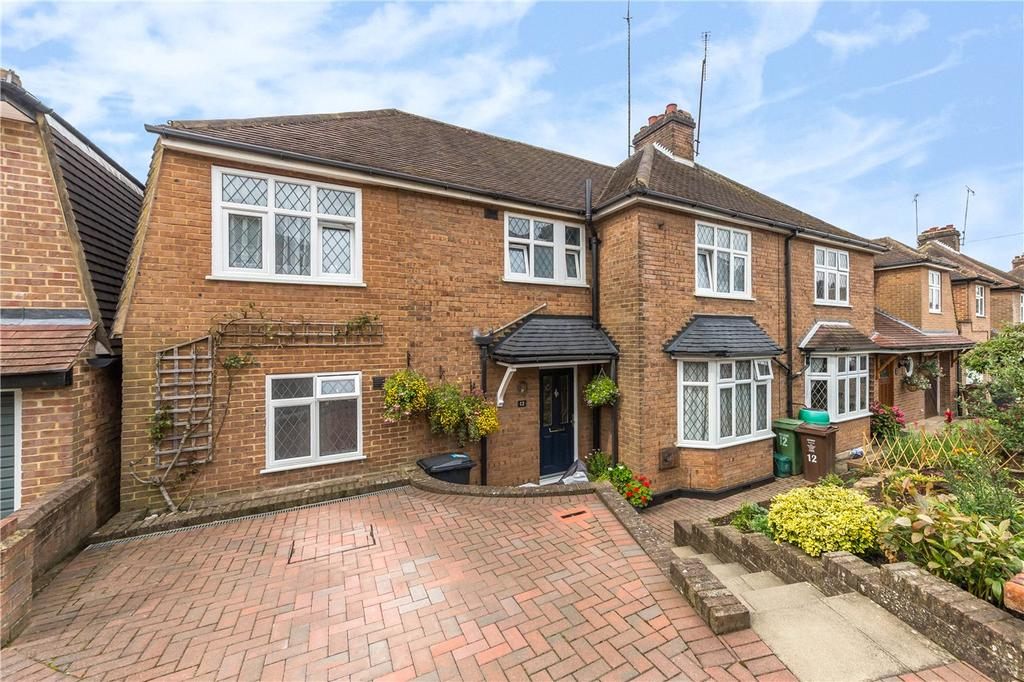 5 Bedrooms Semi Detached House for sale in Connaught Road, St. Albans, Hertfordshire