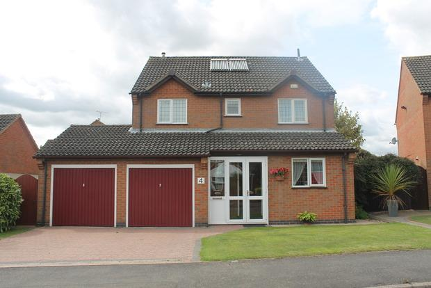 4 Bedrooms Detached House for sale in Little Dale, Wigston Harcourt, Leicester, LE18