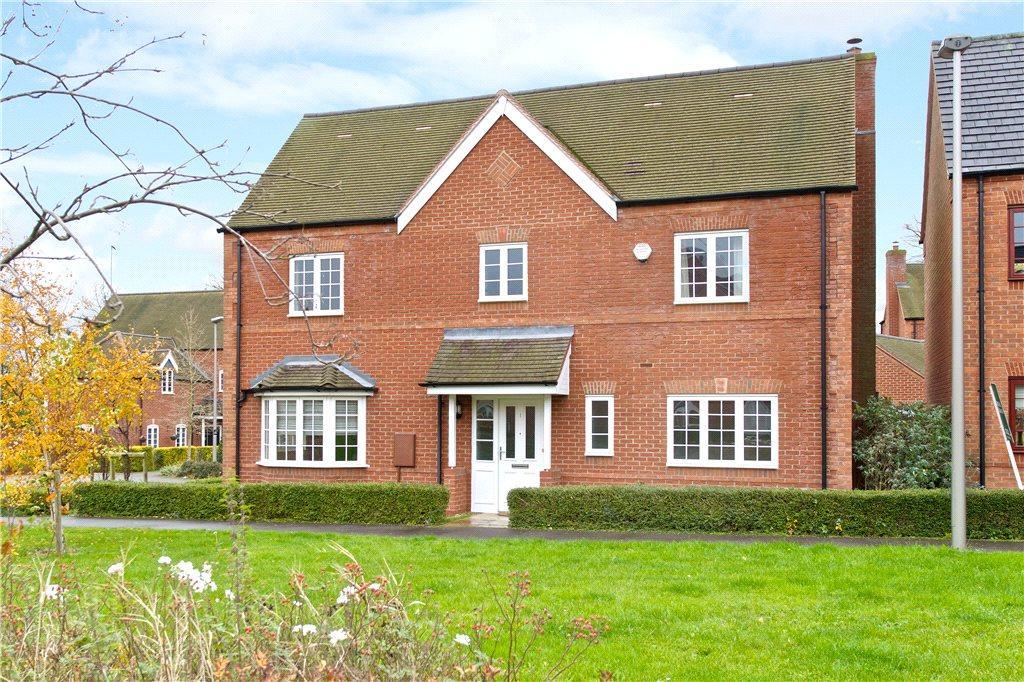 4 Bedrooms Detached House for sale in Dean Forest Way, Broughton Village, Milton Keynes, Buckinghamshire