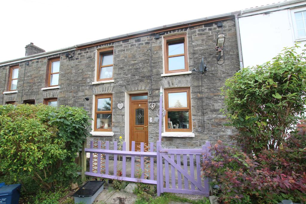2 Bedrooms Cottage House for sale in Canal Row, Abercanaid, Merthyr Tydfil CF48