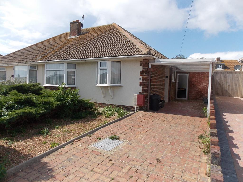 2 Bedrooms Semi Detached Bungalow for sale in Highview Road, Telscombe Cliffs, East Sussex
