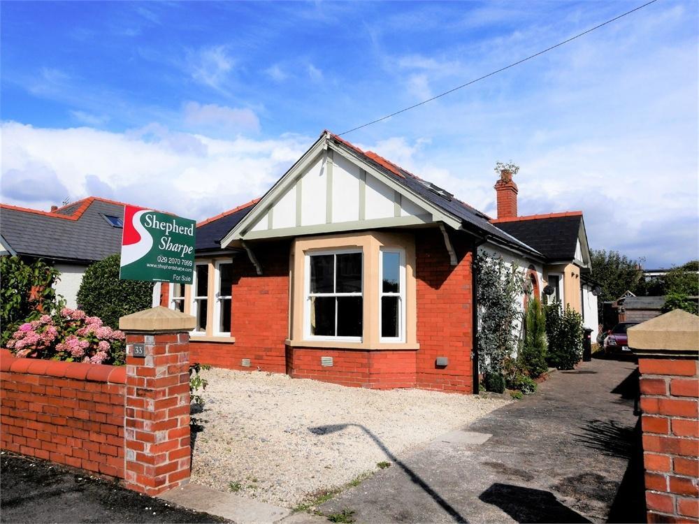 5 Bedrooms Detached Bungalow for sale in Augusta Crescent, Penarth