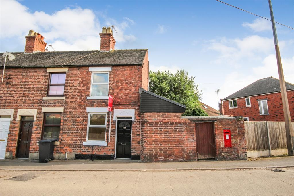 2 Bedrooms End Of Terrace House for sale in Smithfield Road, Uttoxeter, Staffordshire