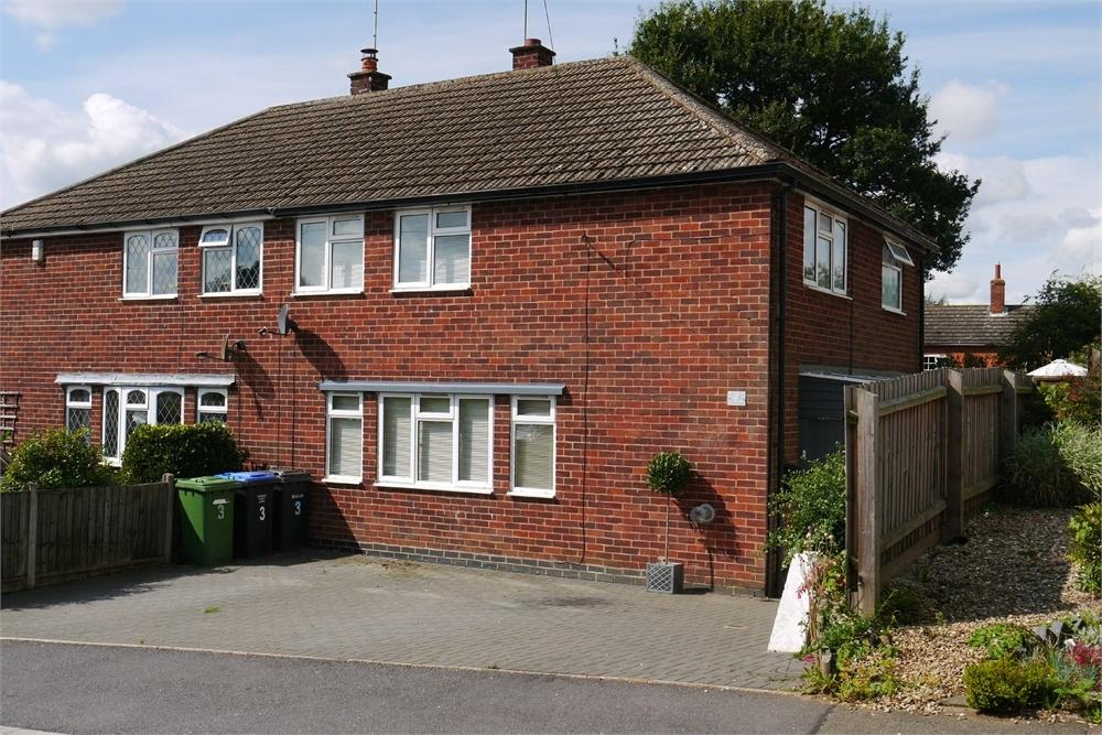 3 Bedrooms Semi Detached House for sale in The Close, Swinford, Lutterworth, Leicestershire