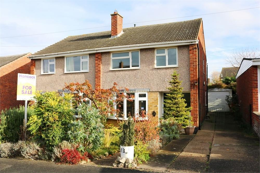 3 Bedrooms Semi Detached House for sale in Wyfordby Close, MELTON MOWBRAY