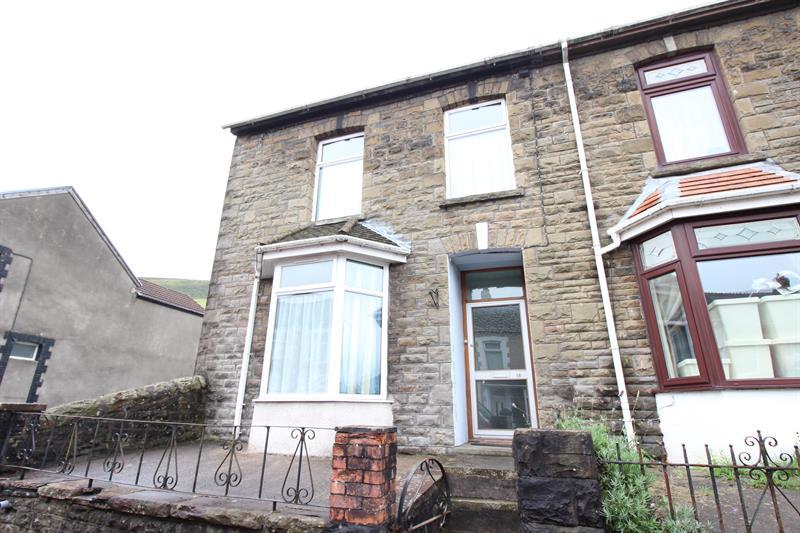 2 Bedrooms End Of Terrace House for sale in Tridwr Road, Abertridwr, Caerphilly