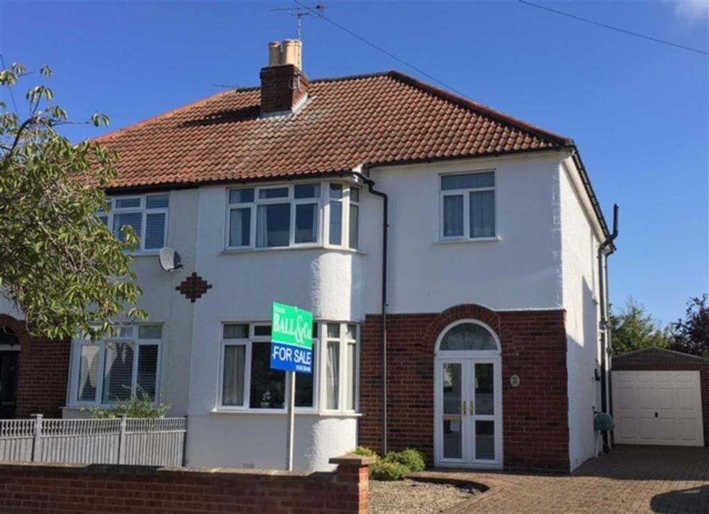 3 Bedrooms Semi Detached House for sale in Mead Road, Leckhampton, Cheltenham, GL53