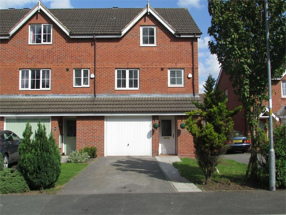 4 Bedrooms Town House for sale in Brackenwood Drive, WIDNES, Cheshire