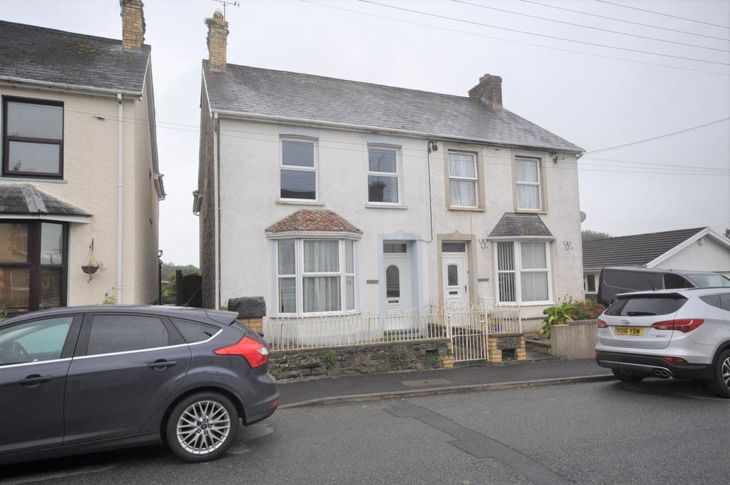 4 Bedrooms Semi Detached House for sale in Hazeldene, North Road, Whitland, SA34 0AU
