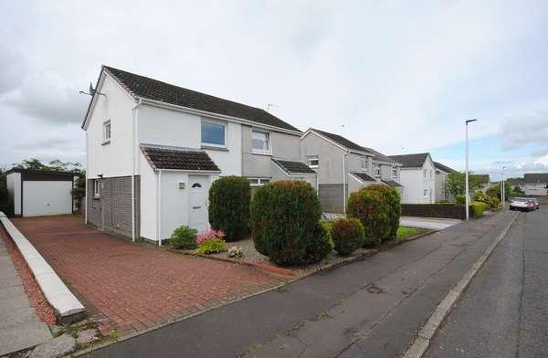 2 Bedrooms Semi-detached Villa House for sale in 3 High Meadow, Carluke, ML8 4PT