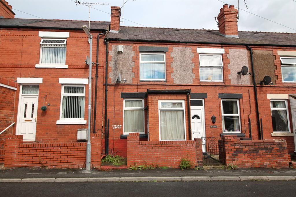 2 Bedrooms Terraced House for sale in Vulcan Cottages, New Road, Southsea, Wrexham, LL11