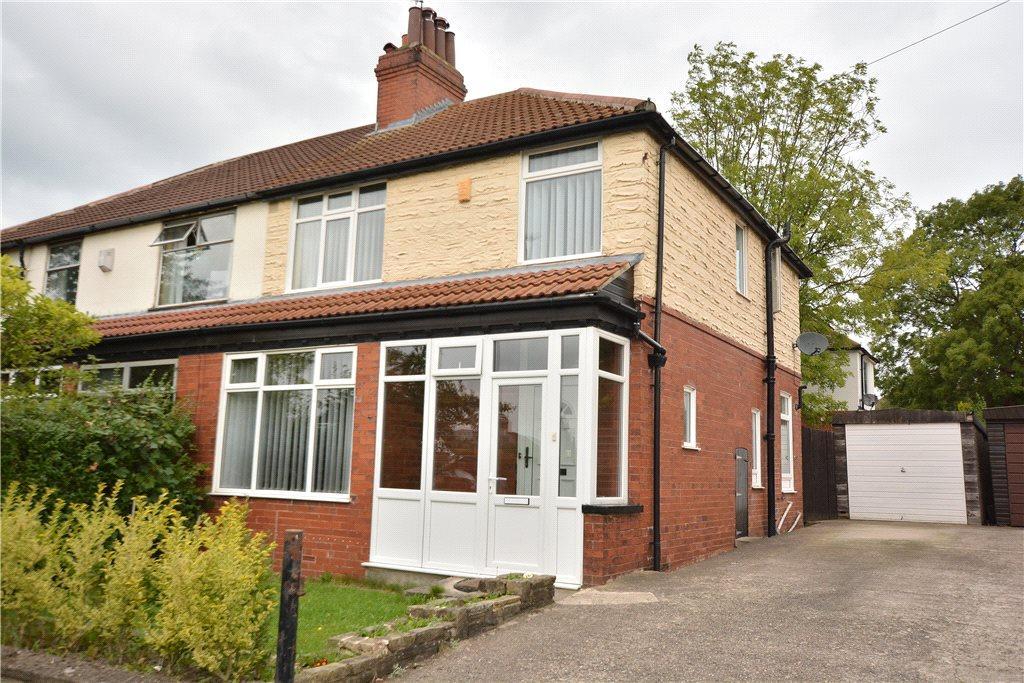 3 Bedrooms Semi Detached House for sale in East Moor Crescent, Roundhay, Leeds