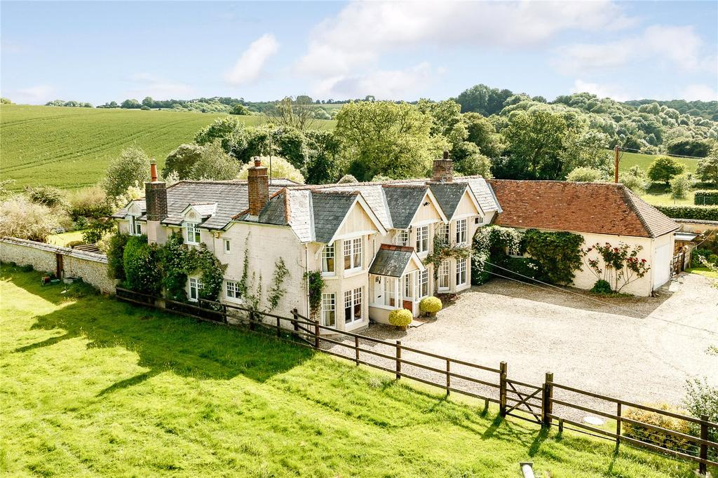 6 Bedrooms Detached House for sale in Upton, Andover, Hampshire