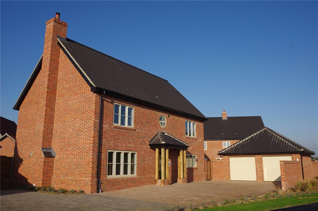 4 Bedrooms Detached House for sale in Plot 8 Newlands Gate, Bunwell Road, Spooner Row, Wymondham, NR18