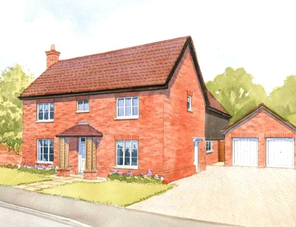 4 Bedrooms Detached House for sale in Plot 7 Newlands Gate, Bunwell Road, Spooner Row, Wymondham, NR18