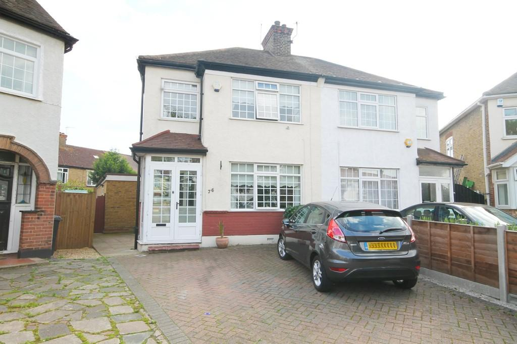 3 Bedrooms Semi Detached House for sale in Hazelwood Road, Bush Hill Park, Enfield