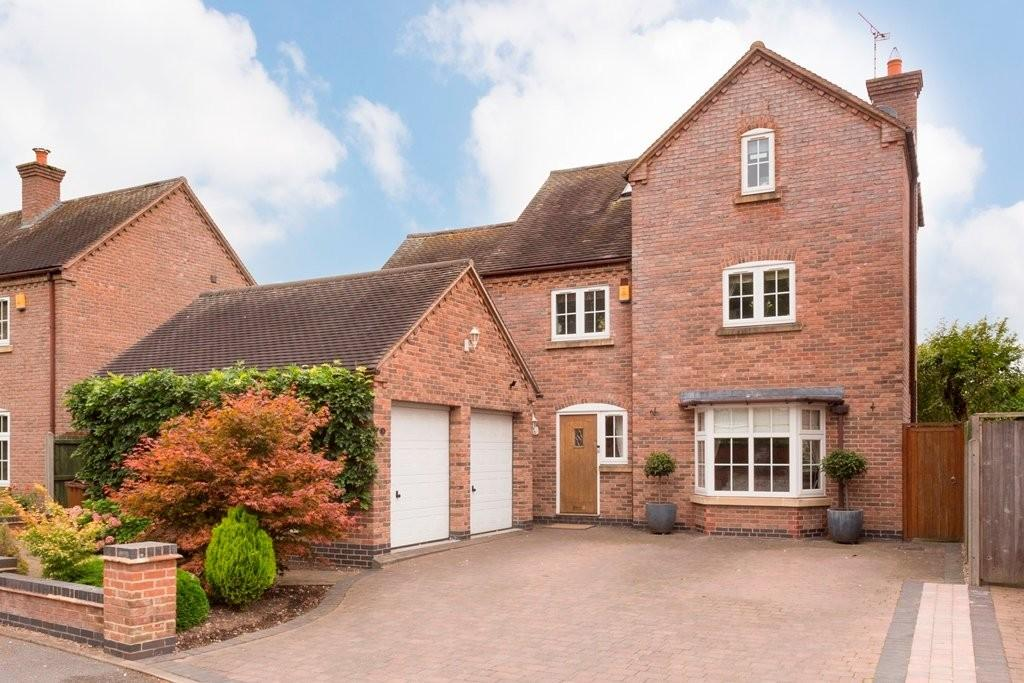 5 Bedrooms Detached House for sale in The Cricketers, Alrewas
