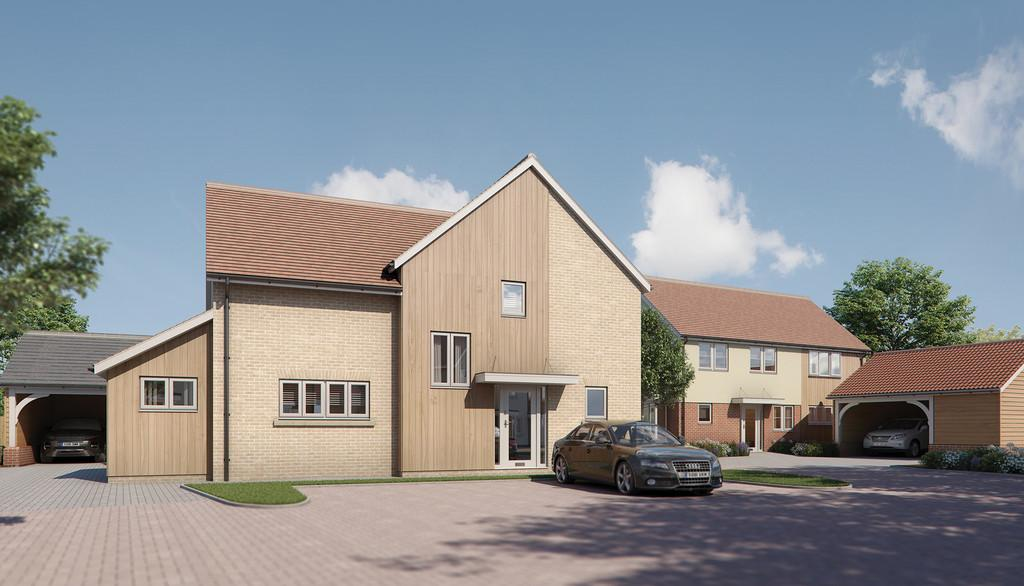 4 Bedrooms Detached House for sale in Plot 8 - Kiln Road, Ardleigh, Essex, CO7 7RT