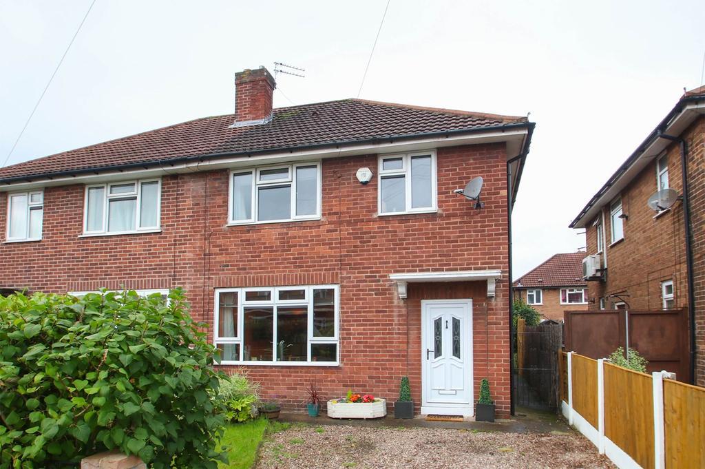 3 Bedrooms Semi Detached House for sale in Debenham Road, Stretford, Manchester, M32