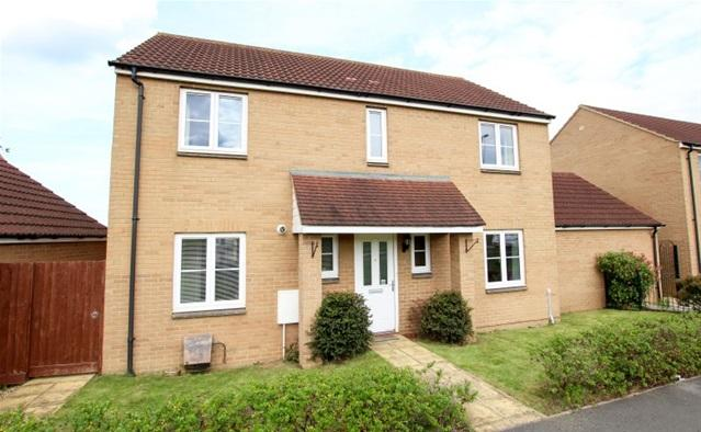 4 Bedrooms Detached House for sale in Jutland Walk, Bridgwater