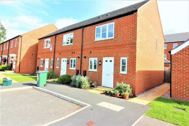 2 Bedrooms End Of Terrace House for sale in Rangers Close, Chester