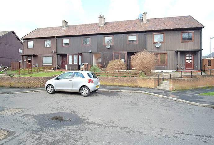 3 Bedrooms Terraced House for sale in 27 Priors Meadow, Jedburgh, TD8 6HG