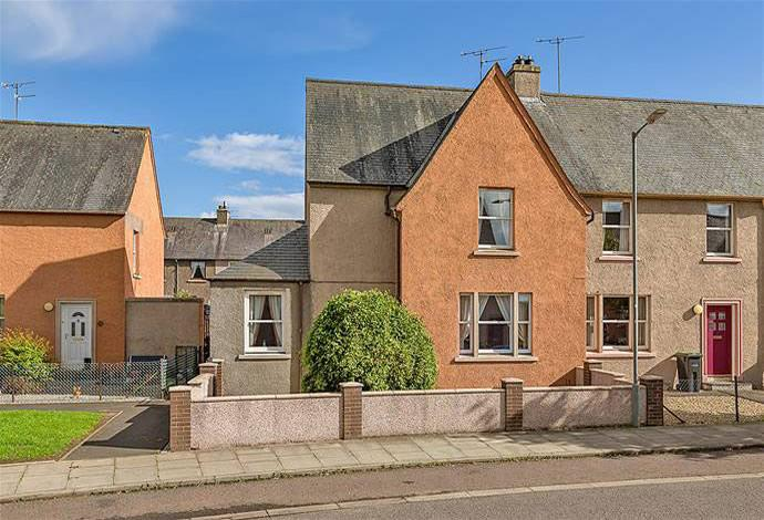 3 Bedrooms Terraced House for sale in 34 Inchmead Drive, Kelso, TD5 7LW