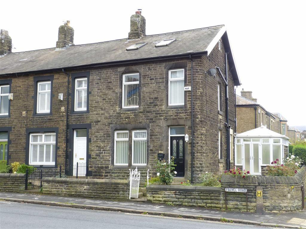 3 Bedrooms End Of Terrace House for sale in Fauvel Road, Glossop
