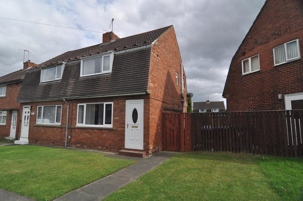 2 Bedrooms Semi Detached House for sale in Chestnut Avenue, Spennymoor DL16