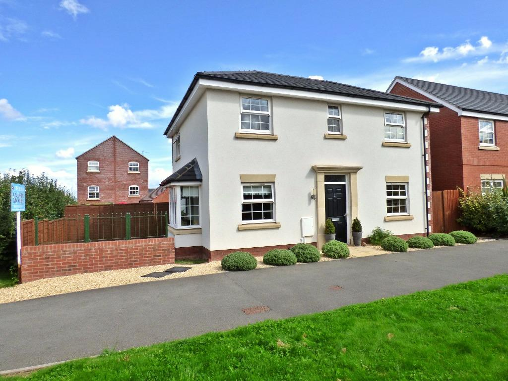 4 Bedrooms Detached House for sale in Dymock Red Walk, The Furlongs, Holmer, Hereford