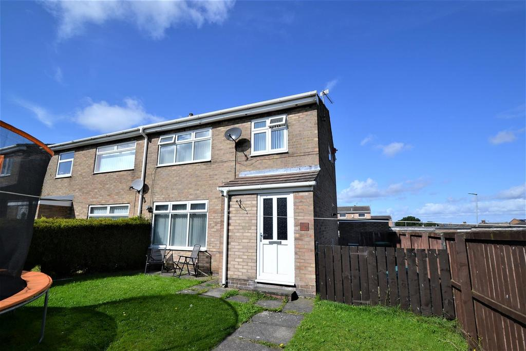 3 Bedrooms Semi Detached House for sale in High Croft, Middlestone Moor
