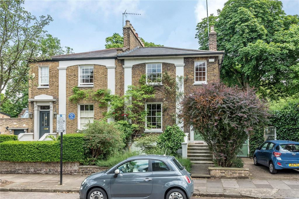 5 Bedrooms Semi Detached House for sale in Canonbury Park South, Islington, London, N1