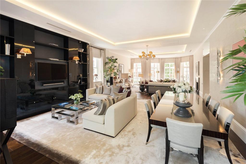 2 Bedrooms Flat for sale in Rutland Gardens, London