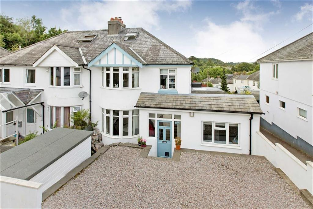 4 Bedrooms Semi Detached House for sale in Sparrow Road, Totnes, Devon, TQ9