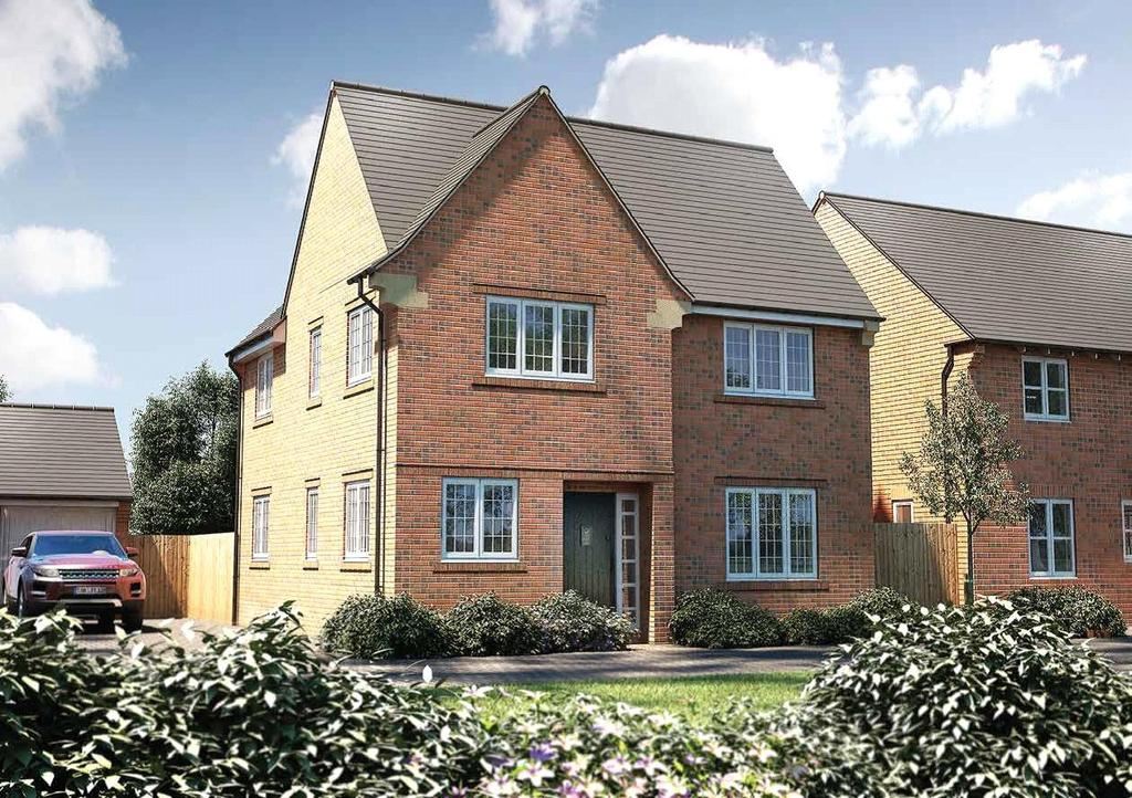 4 Bedrooms Detached House for sale in Plot 60 - The Eggleston, Woodberry Copse, Lyme Regis, Dorset, DT7