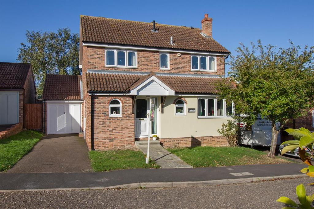 4 Bedrooms Detached House for sale in Abbots Close, Wix, Manningtree