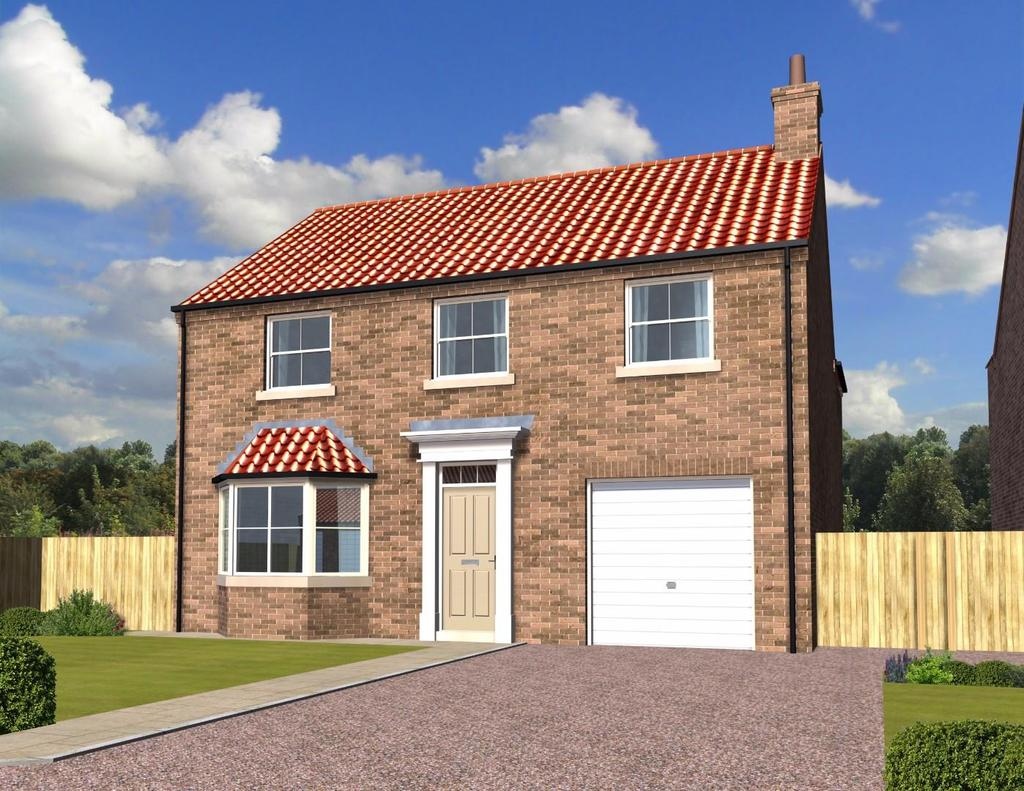 4 Bedrooms Detached House for sale in The Ainsty, Plot 5, Outfield, Sessay, Thirsk by Daniel Gath Homes