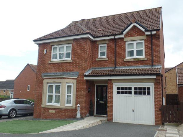 4 Bedrooms Detached House for sale in BRACKENRIDGE, SHOTTON, PETERLEE AREA VILLAGES