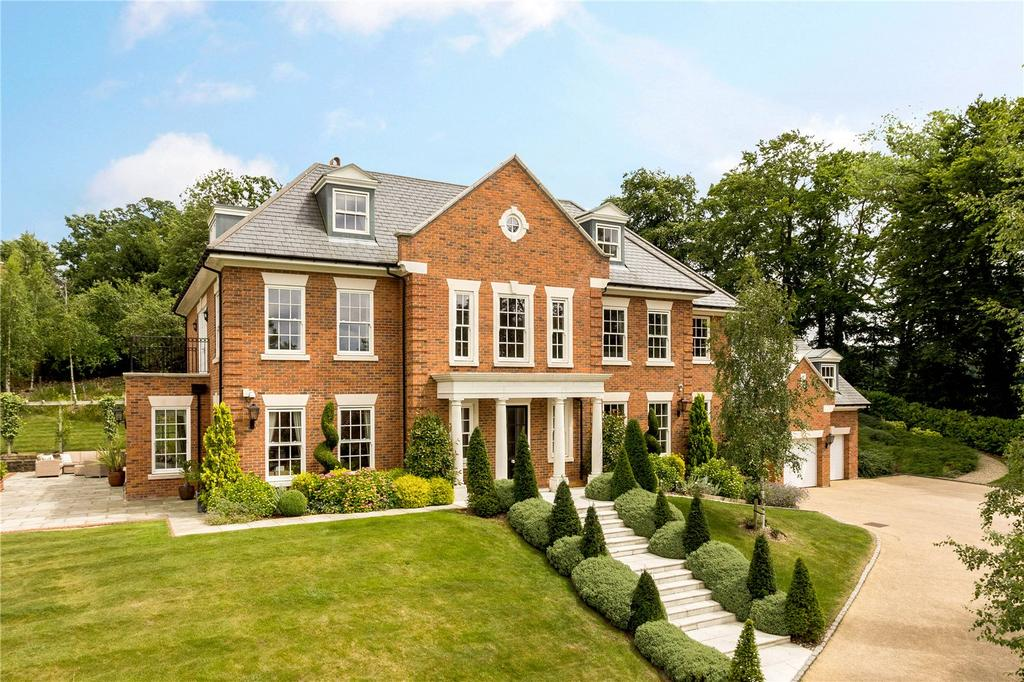7 Bedrooms Detached House for sale in Four Winds, Harvest Hill, Bourne End, SL8
