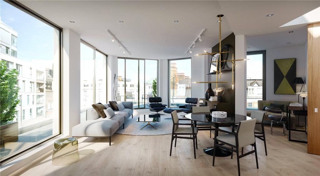 2 Bedrooms Flat for sale in Greycoat Street, London, SW1P