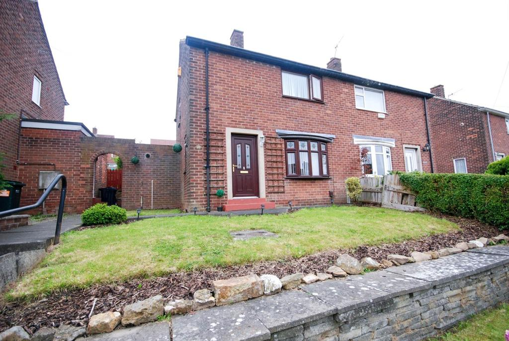 2 Bedrooms Semi Detached House for sale in Chaucer Road, Whickham
