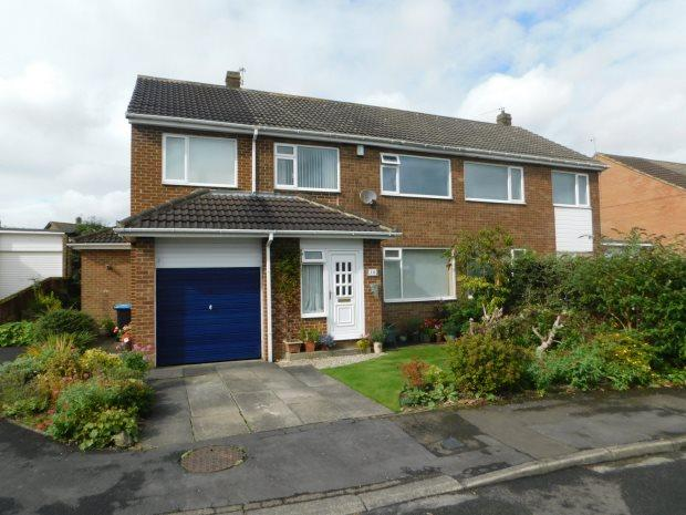 4 Bedrooms Semi Detached House for sale in MITFORD CLOSE, HIGH SHINCLIFFE, DURHAM CITY