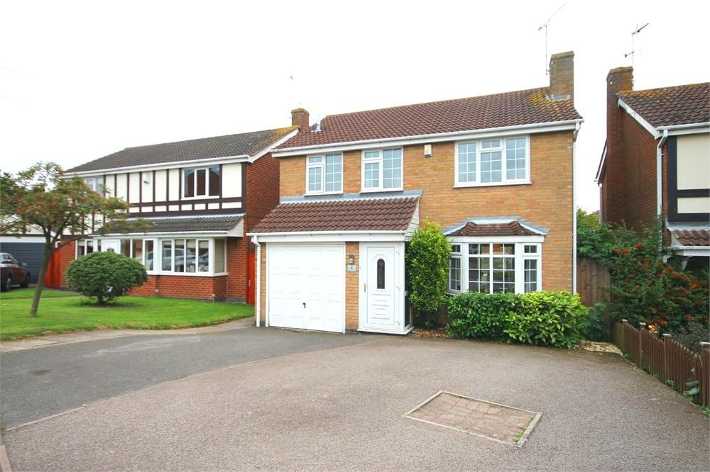 4 Bedrooms Detached House for sale in Teasel Close, Narborough, LEICESTER