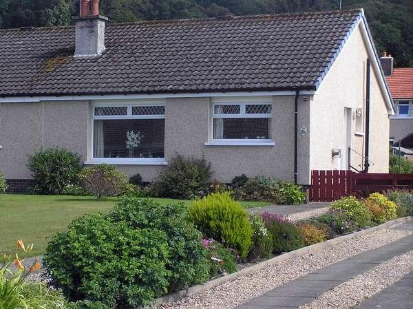 2 Bedrooms Semi Detached Bungalow for sale in 10 Balloch Crescent, Millport, KA28 0BY