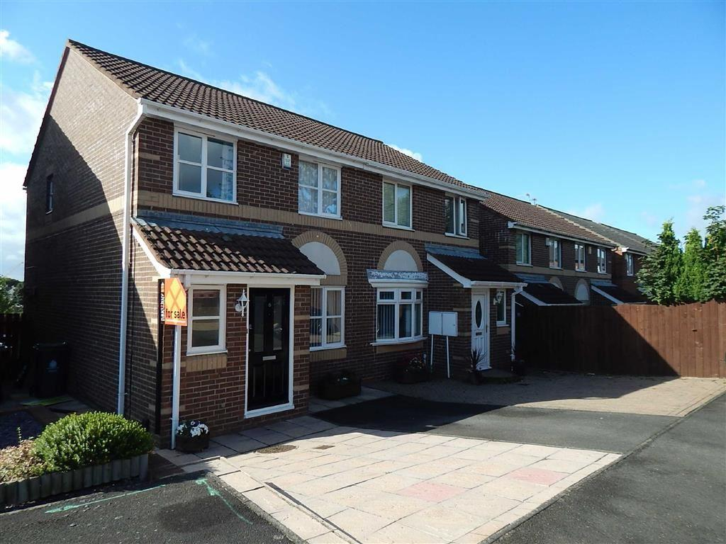 3 Bedrooms Semi Detached House for sale in Priors Way, Rosehill, Wallsend, NE28
