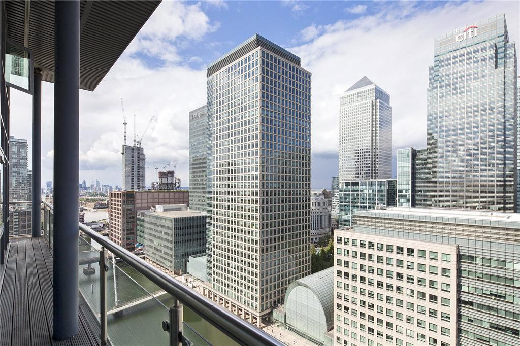 4 Bedrooms Penthouse Flat for sale in Discovery Dock Apartments, 3 South Quay Square, E14