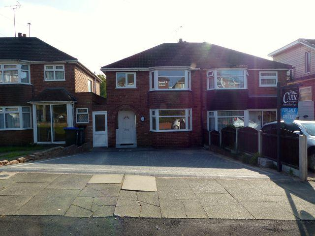 3 Bedrooms Semi Detached House for sale in Gorse Farm Road,Great Barr,Birmingham