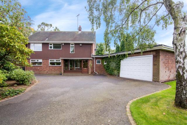 4 Bedrooms Detached House for sale in Blackwood Road,Streetly,Sutton Coldfield