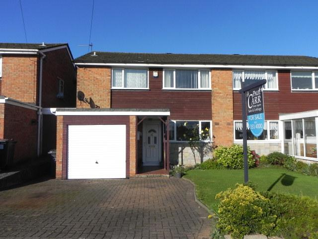 3 Bedrooms Semi Detached House for sale in Laburnum Drive,Sutton Coldfield,West Midlands